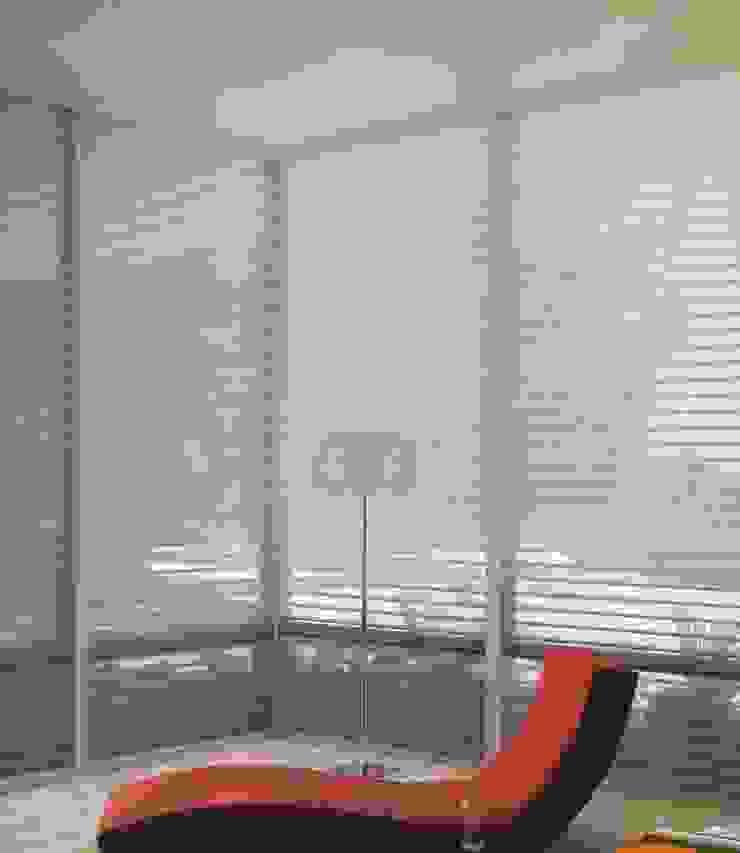SHEER ROYAL Salas modernas de CORTINAS & DISEÑOS S.A.S Moderno