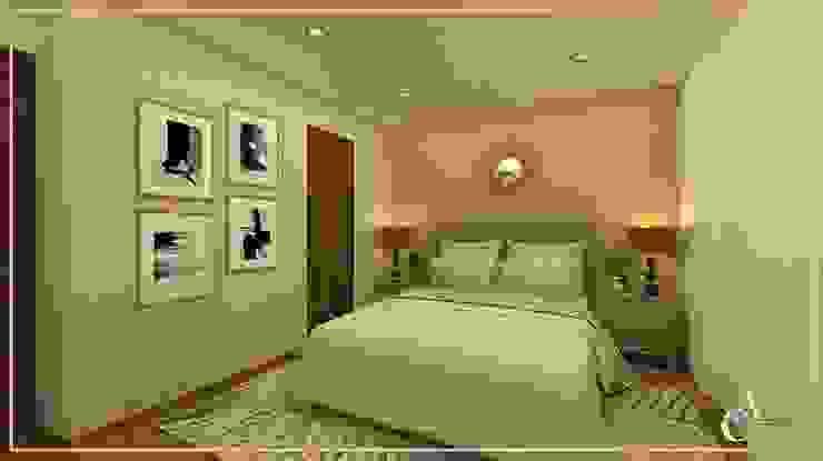 DISEÑO DORMITORIO PRINCIPAL ✨ Dormitorios de estilo moderno de Arisu Cavero - Arquitectura de Interiores Moderno