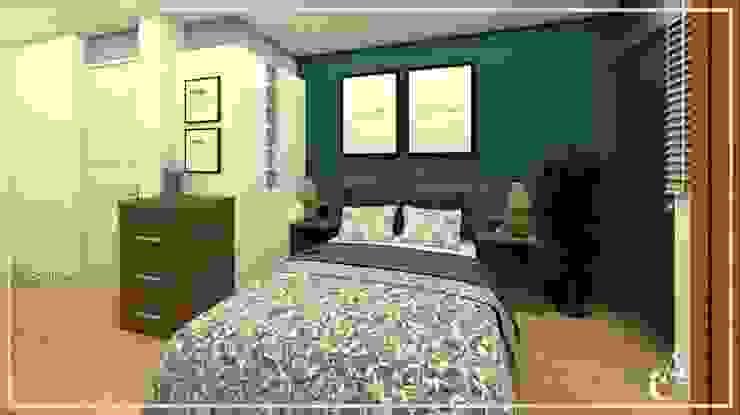 DISEÑO HABITACIÓN ✨ Dormitorios de estilo moderno de Arisu Cavero - Arquitectura de Interiores Moderno