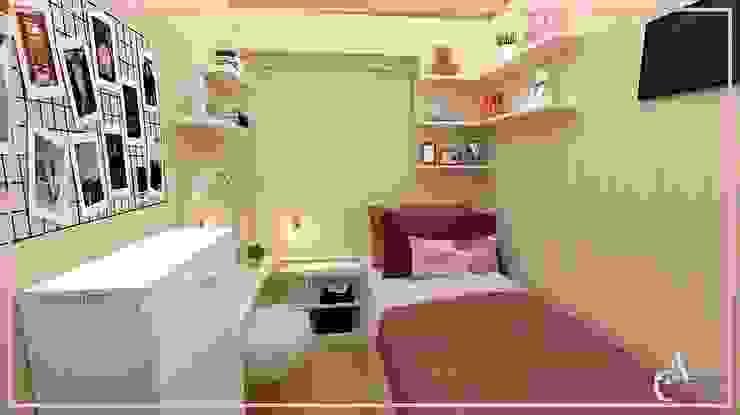 DISEÑO DORMITORIO ✨ Dormitorios de estilo moderno de Arisu Cavero - Arquitectura de Interiores Moderno