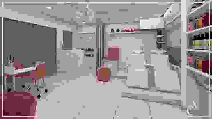 DISEÑO DE PELUQUERIA ✨ de Arisu Cavero - Arquitectura de Interiores Moderno