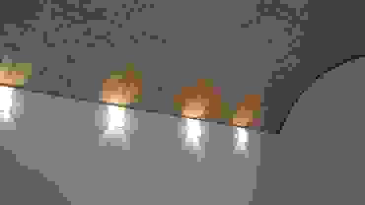 Terminado de Bóveda de cañón corrido Edificios de oficinas de estilo moderno de CESAR MONCADA SALAZAR (L2M ARQUITECTOS S DE RL DE CV) Moderno