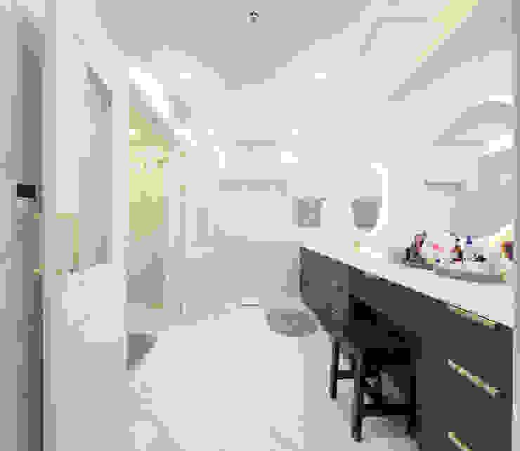 그레이집 파우더룸 모던스타일 욕실 by 주택설계전문 디자인그룹 홈스타일토토 모던 타일