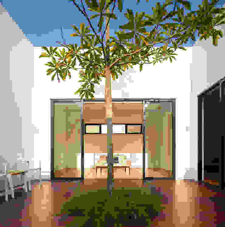Mandai Courtyard House Modern garden by Atelier M+A Modern