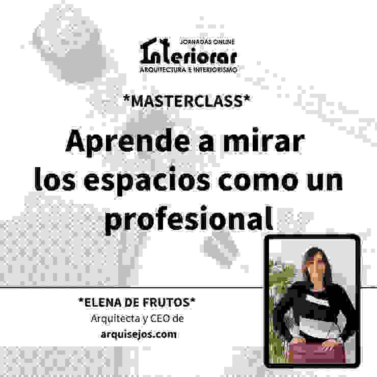 Masterclass gratuita Interiorar 2020 Programa día 30 Elena de Frutos