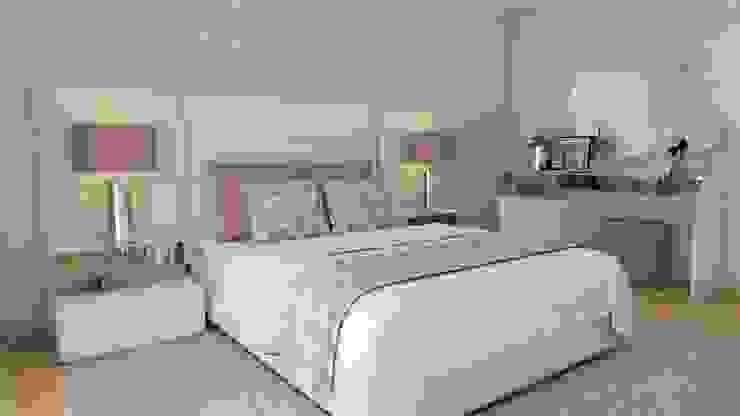 Projetos personalizados e realistas! Quartos modernos por Casactiva Interiores Moderno