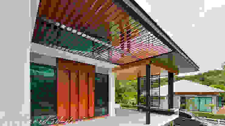 บ้านพักอาศัยชั้นเดียว มีดาดฟ้า อ.มวกเหล็ก คุณวรวิทย์ fewdavid3d-design