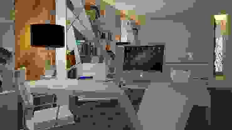 Solicite hoje mesmo o seu projeto 3d! Escritórios modernos por Casactiva Interiores Moderno