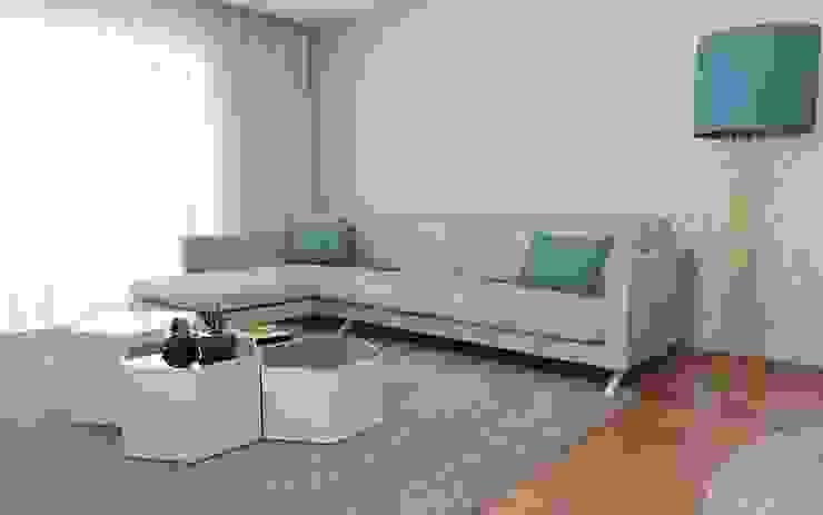 Quando as ideias ganham forma... Salas de estar modernas por Casactiva Interiores Moderno