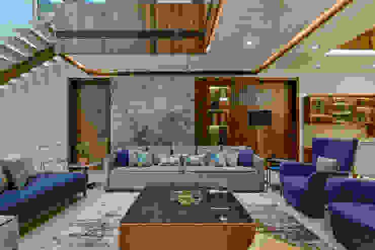 Pavitra Nandan Modern living room by Innerspace Modern