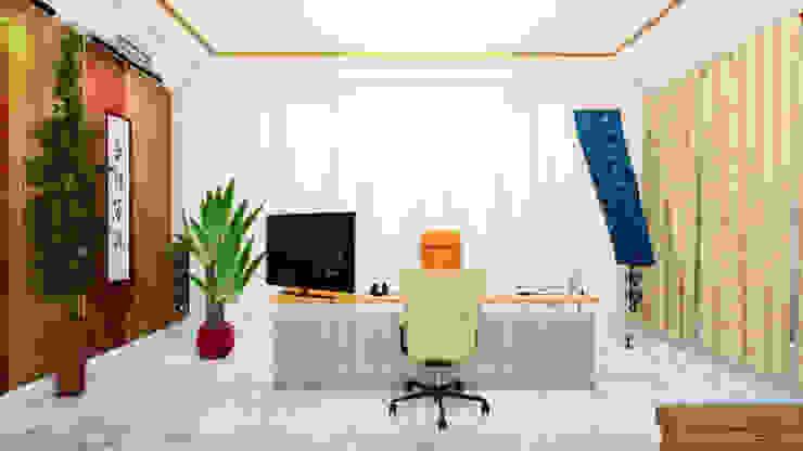 VR Executive Office Design 虛擬實境主管辦公室設計 根據 盧博士虛擬實境設計工坊