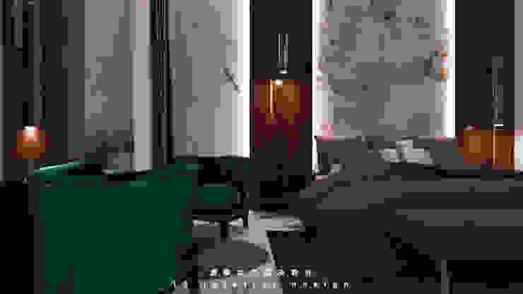 中壢海川蘊居家裝潢-3F主臥室 根據 麗馨室內裝潢設計 LS interior design 現代風