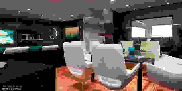 Proyecto de remodelación vivienda unifamiliar Res. El Limón Vida Arquitectura Dining roomTables Beige