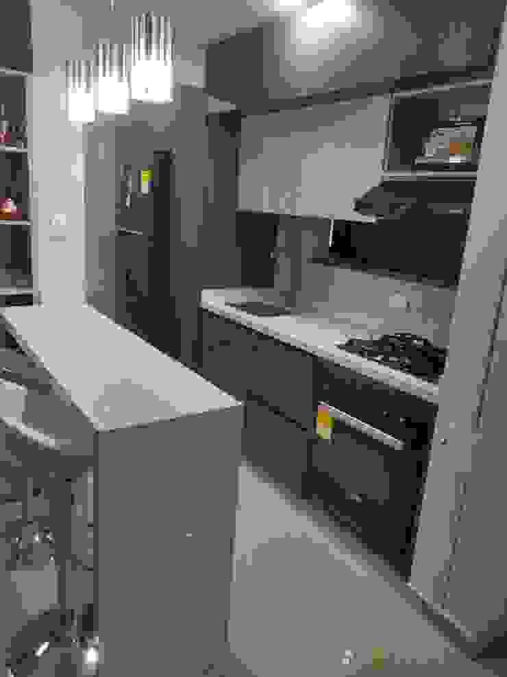proyecto realizado en ciudad pacifica cali en la unidad acuarela II de Cocinas integrales AC Minimalista