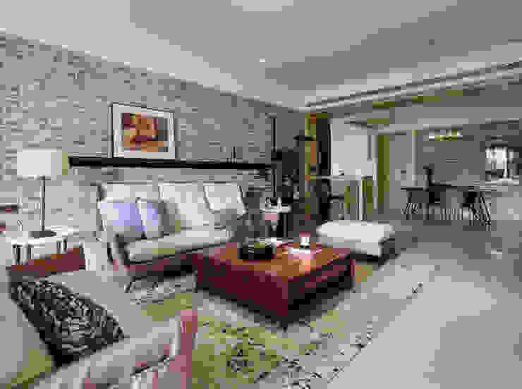 群築室內裝修設計有限公司 Eclectic style living room