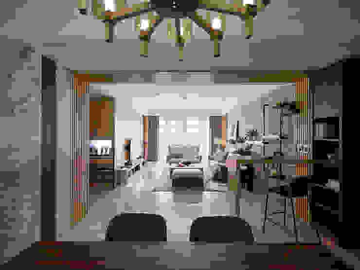 群築室內裝修設計有限公司 Eclectic style dining room
