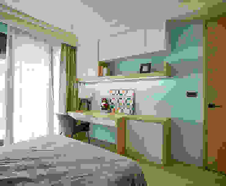 群築室內裝修設計有限公司 Eclectic style study/office