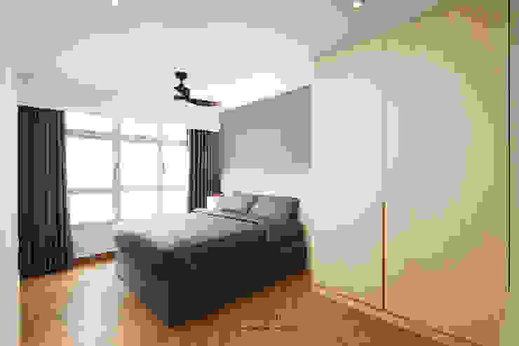 Punggol Bayview Minimalist bedroom by Ovon Design Minimalist