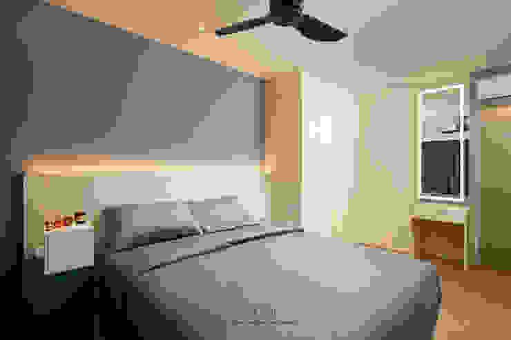 Punggol Bayview Ovon Design Minimalist bedroom