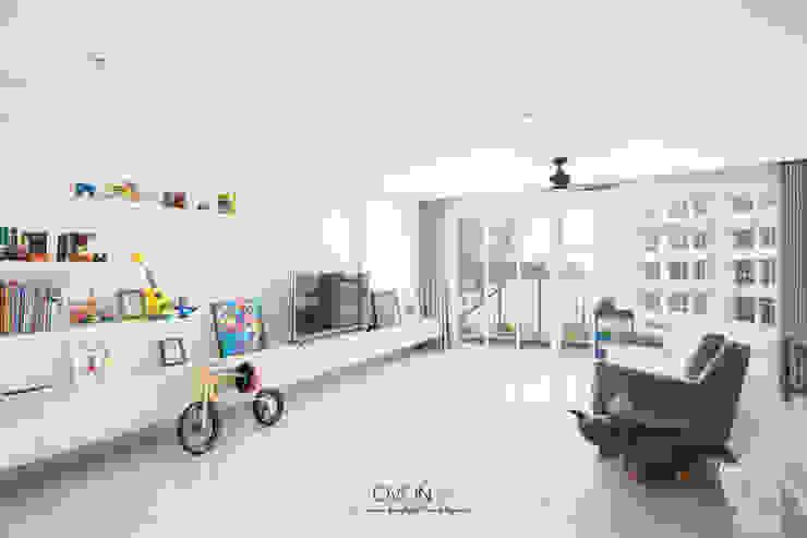 Punggol Bayview Ovon Design Minimalist living room