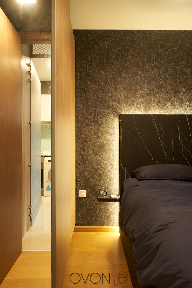 Kingsford Waterbay Modern style bedroom by Ovon Design Modern
