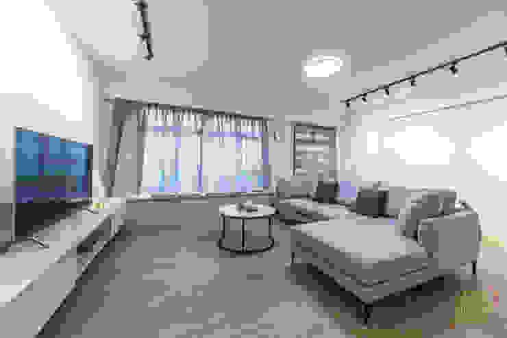Tampines GreenRidges Minimalist living room by Ovon Design Minimalist