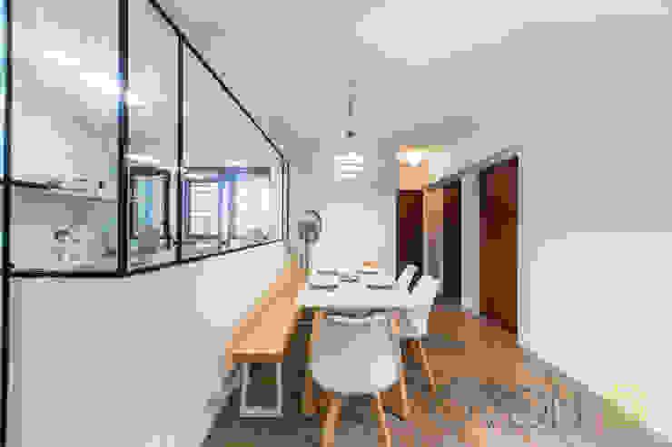 Tampines GreenRidges Minimalist dining room by Ovon Design Minimalist