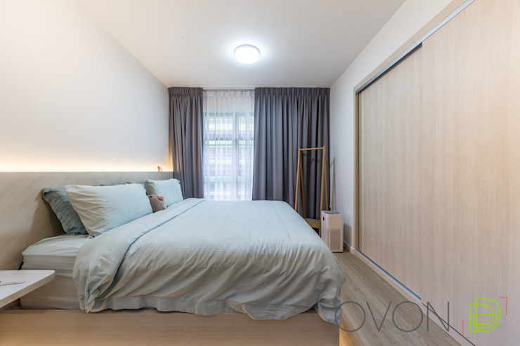 Tampines GreenRidges Minimalist bedroom by Ovon Design Minimalist