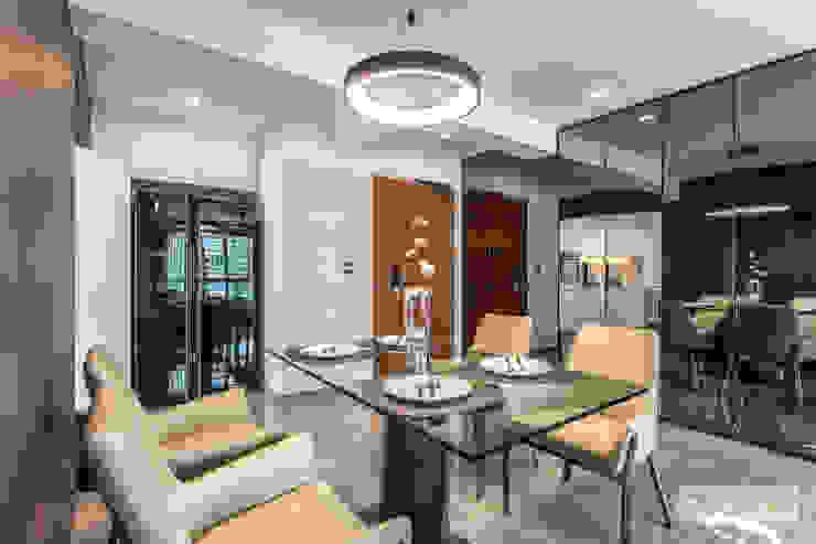 Telok Blangah Modern dining room by Ovon Design Modern