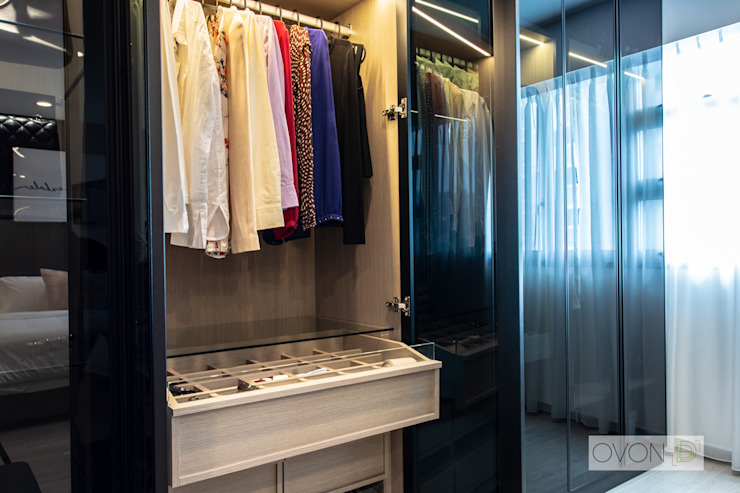 Telok Blangah Ovon Design Modern style bedroom