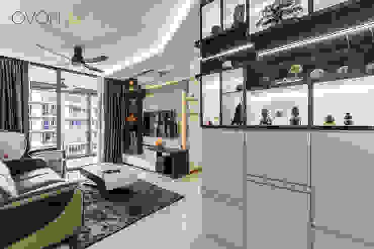 Anchorvale Treasure Crest Modern living room by Ovon Design Modern