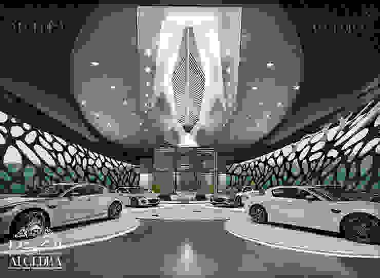 Luxury cars showroom design concept by Algedra Interior Design Modern