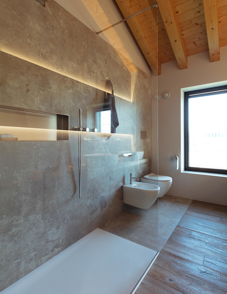 Didonè Comacchio Architects Moderne Badezimmer