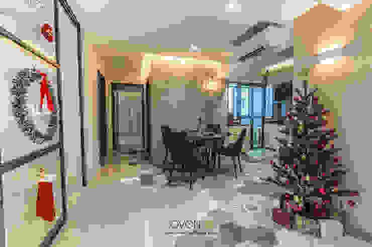Fernvale Link Modern dining room by Ovon Design Modern