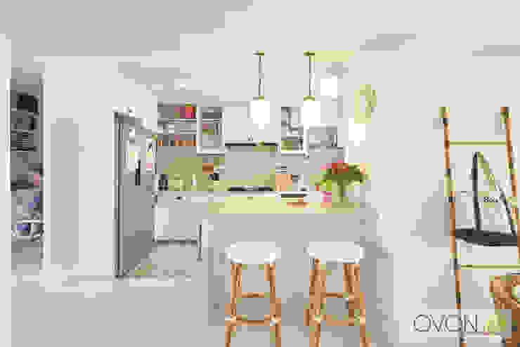 Bedok Reservoir Rd Modern kitchen by Ovon Design Modern