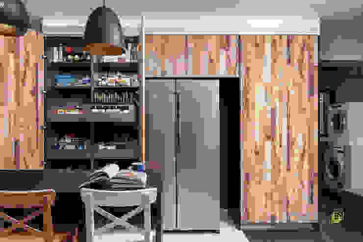 Serangoon North Ovon Design Eclectic style kitchen