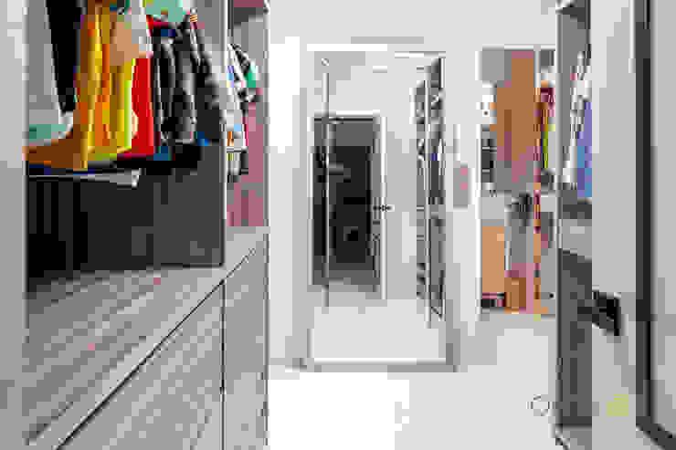 Serangoon North Ovon Design Eclectic style bedroom