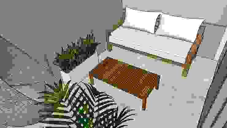 NB INTERIORES Patios & Decks Wood Wood effect