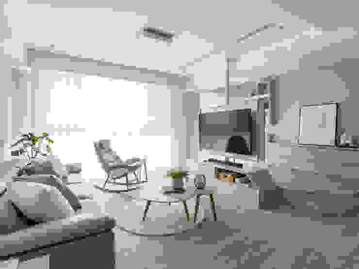 客廳 Modern Living Room by 存果空間設計有限公司 Modern