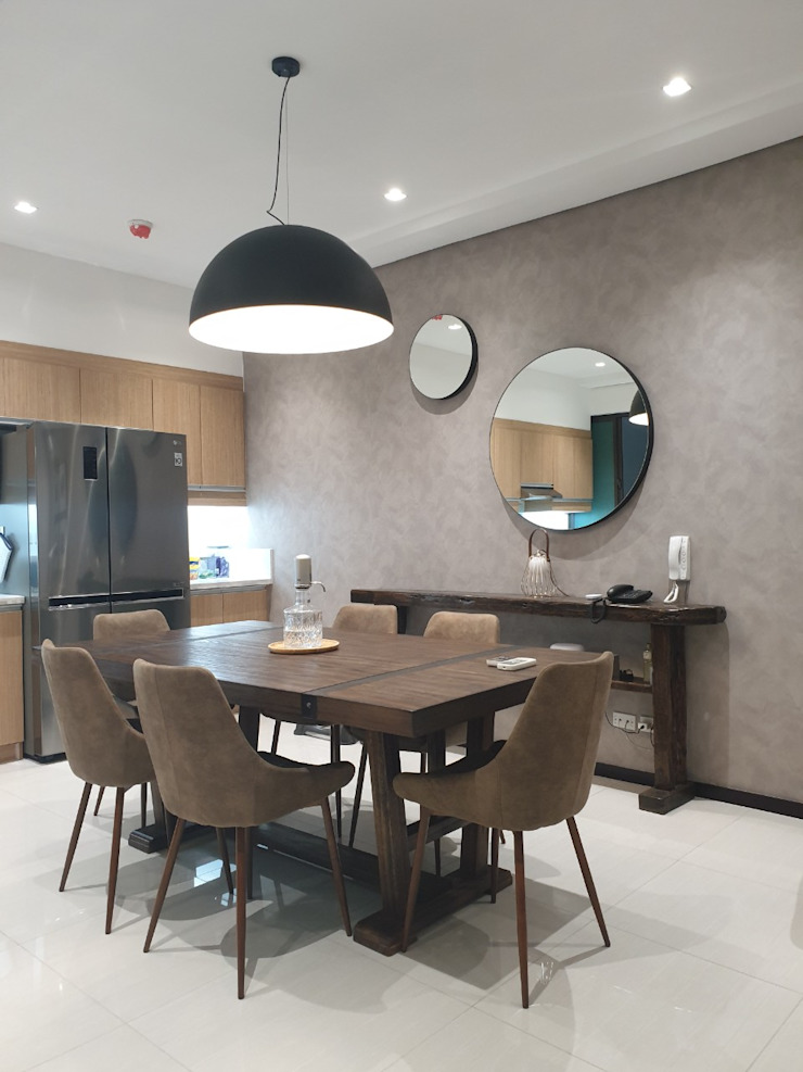 Modern Kitchen by D3ID Design and Build Modern dining room by D3ID Design and Build Modern Wood Wood effect