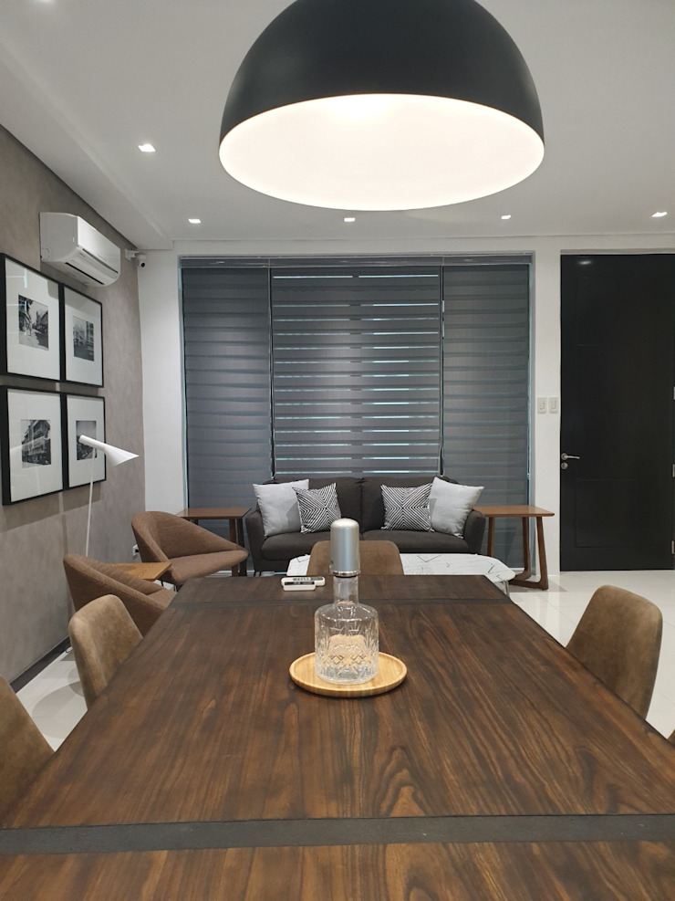Dover Hill, San Juan Modern dining room by D3ID Design and Build Modern Wood Wood effect