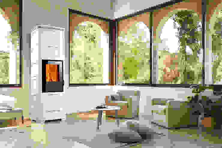 STUFA IBRIDA INFINITY E228 D Gruppo Piazzetta S.p.a. Giardino d'inverno in stile classico Ceramica Bianco