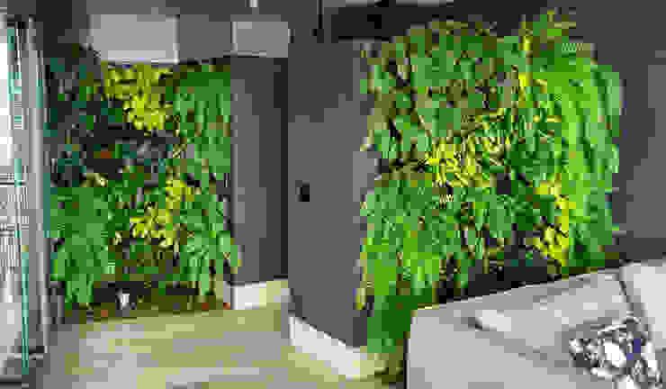 Jardín Vertical FUENTE CLARA URRETA Arquitectura del Paisaje Jardines de estilo tropical