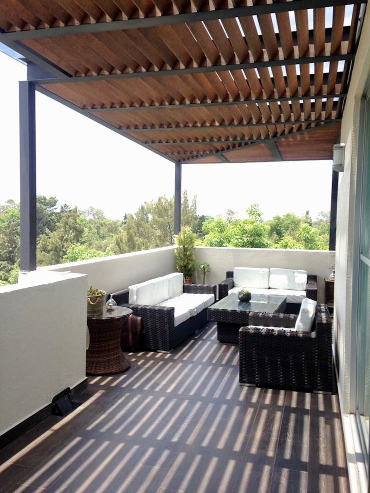Decora in - Hunter Douglas Balconies, verandas & terraces Accessories & decoration