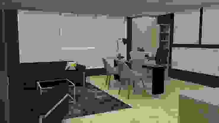 Oficina Presidencial de MAS ARQUITECTURA1 - Arq. Marynes Salas Moderno