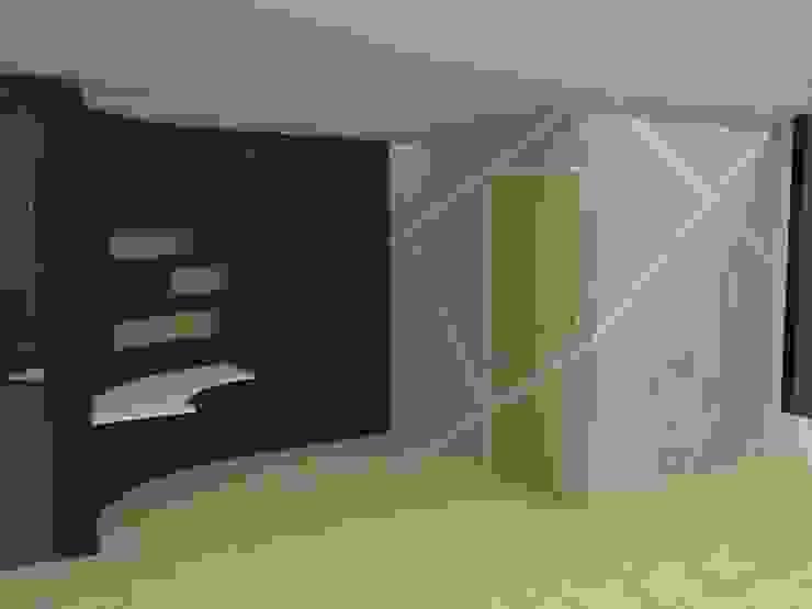Diseño de Revestimiento en Pared de MAS ARQUITECTURA1 - Arq. Marynes Salas Moderno