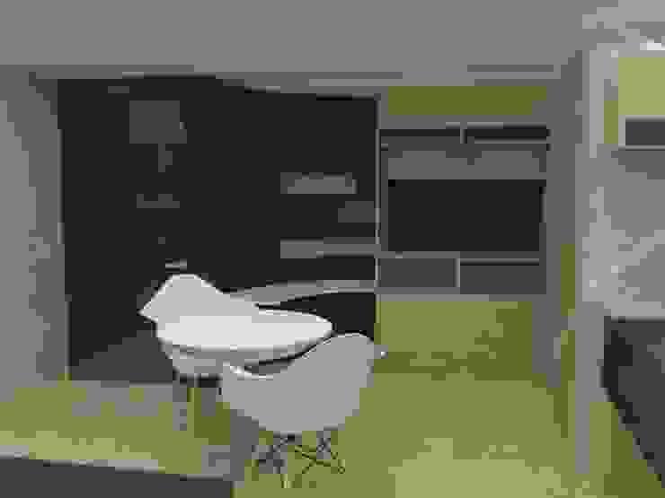 Mueble multifuncional de MAS ARQUITECTURA1 - Arq. Marynes Salas Moderno