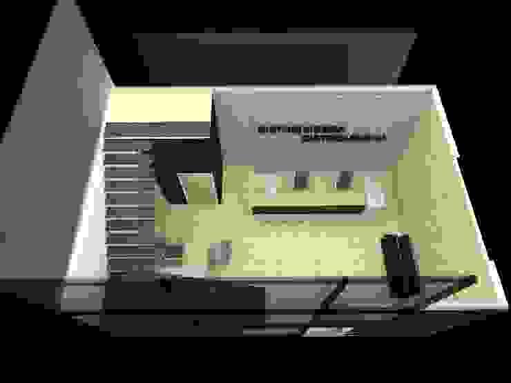 Planta Baja de Oficinas - Recepcion de MAS ARQUITECTURA1 - Arq. Marynes Salas Moderno