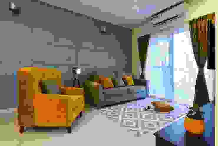 living room IBR Designs Living room Grey