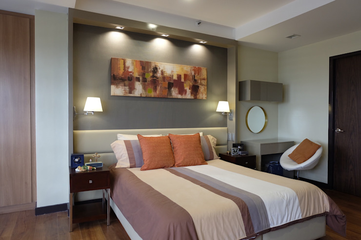 2BR Condo @ East Horizon, Ortigas Modern style bedroom by D3ID Design and Build Modern